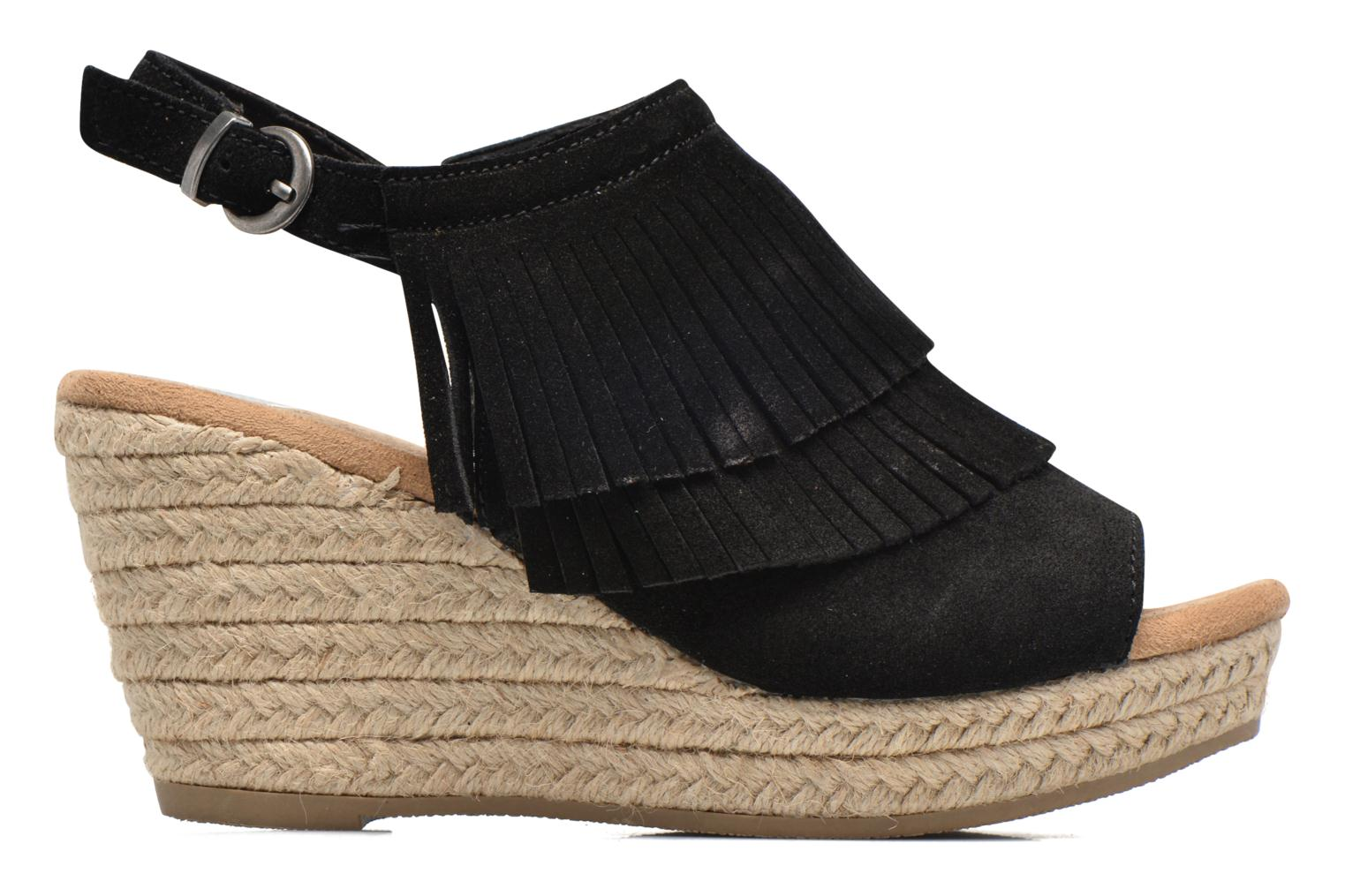 Sandalias Minnetonka Ashley Negro vistra trasera