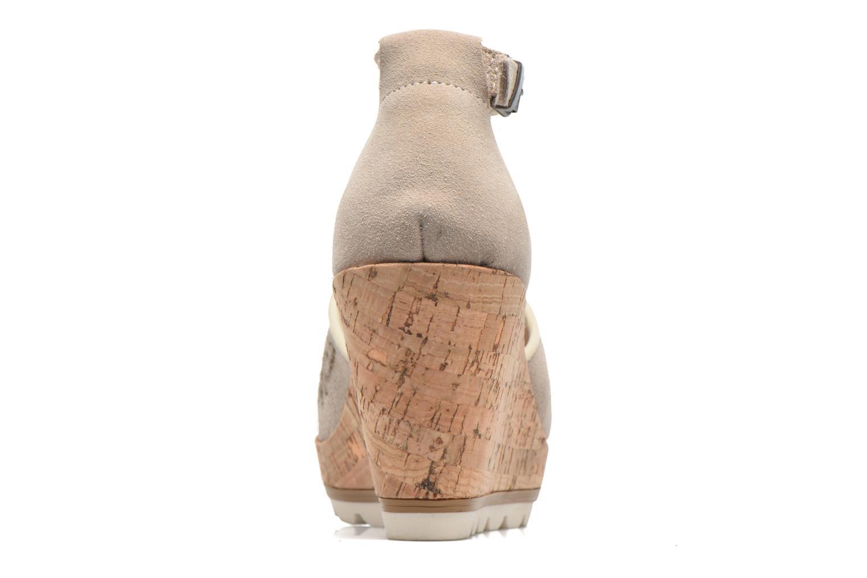 Sandales et nu-pieds Minnetonka Ellis Gris vue droite