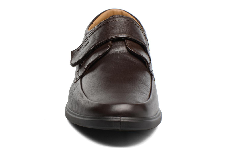 Chaussures à scratch Sledgers Joute Marron vue portées chaussures