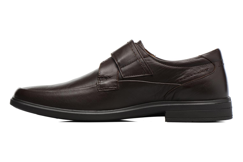 Chaussures à scratch Sledgers Joute Marron vue face
