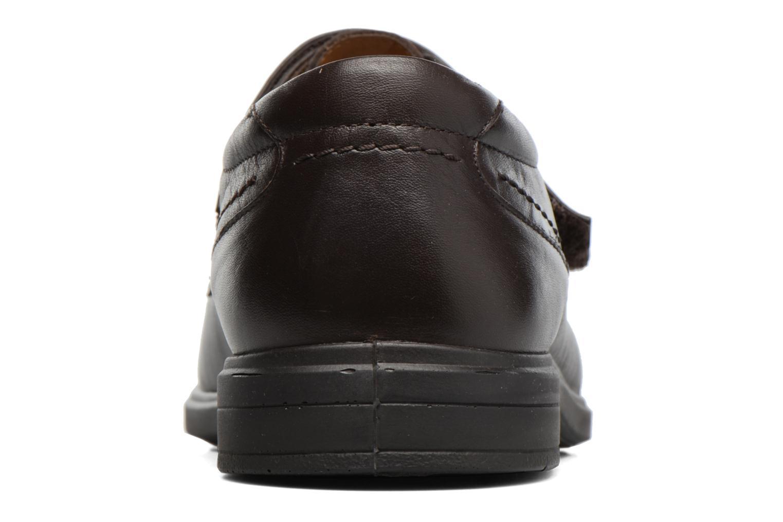 Chaussures à scratch Sledgers Joute Marron vue droite