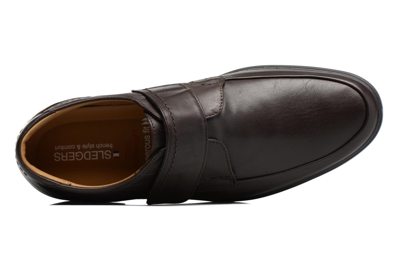 Chaussures à scratch Sledgers Joute Marron vue gauche