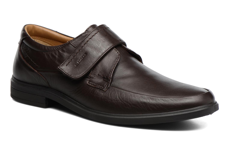 Chaussures à scratch Sledgers Joute Marron vue détail/paire