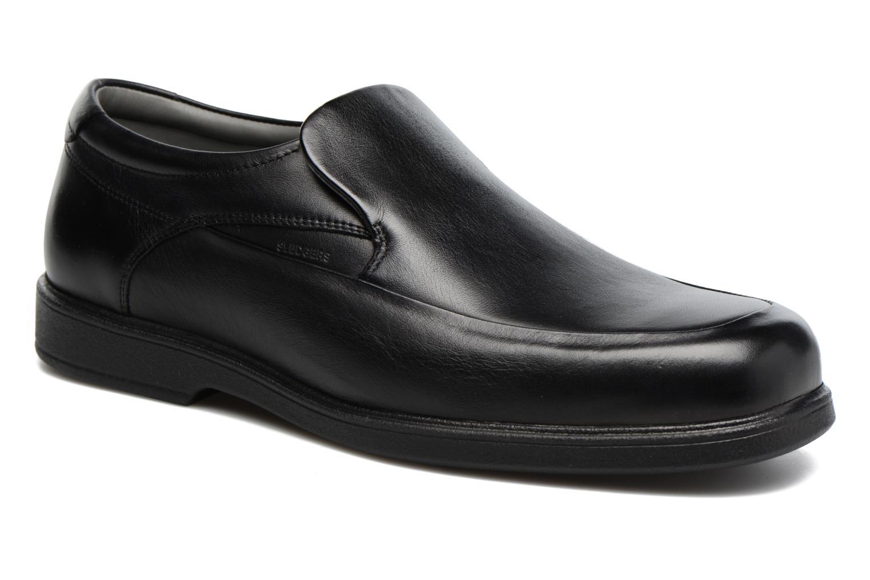 Loafers Sledgers Must Svart detaljerad bild på paret