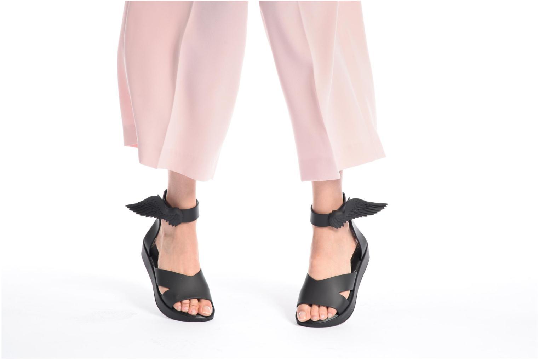 Sandales et nu-pieds Melissa Melissa x Vivienne Westwood - Anglomania Rocking Horse Noir vue bas / vue portée sac