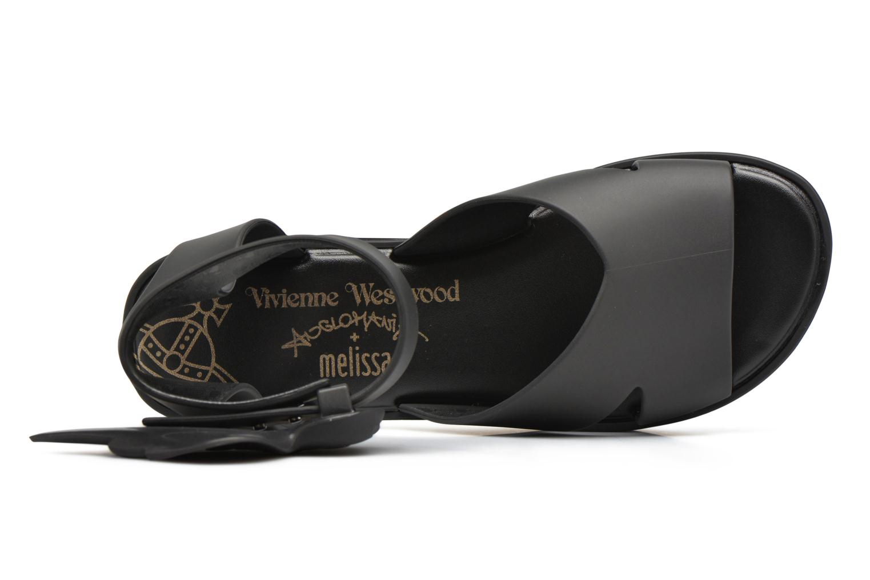 Sandalen Melissa Melissa x Vivienne Westwood - Anglomania Rocking Horse schwarz ansicht von links