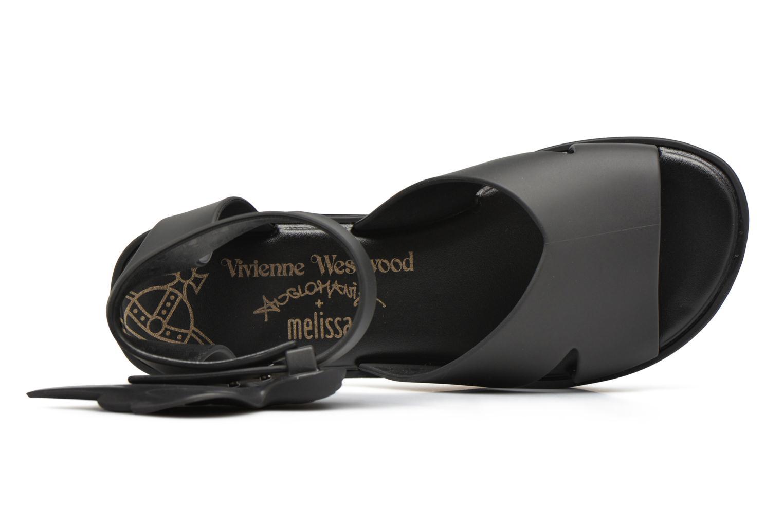 Sandales et nu-pieds Melissa Melissa x Vivienne Westwood - Anglomania Rocking Horse Noir vue gauche