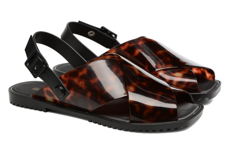 Sandales et nu-pieds Melissa Sauce Sandal Noir vue 3/4