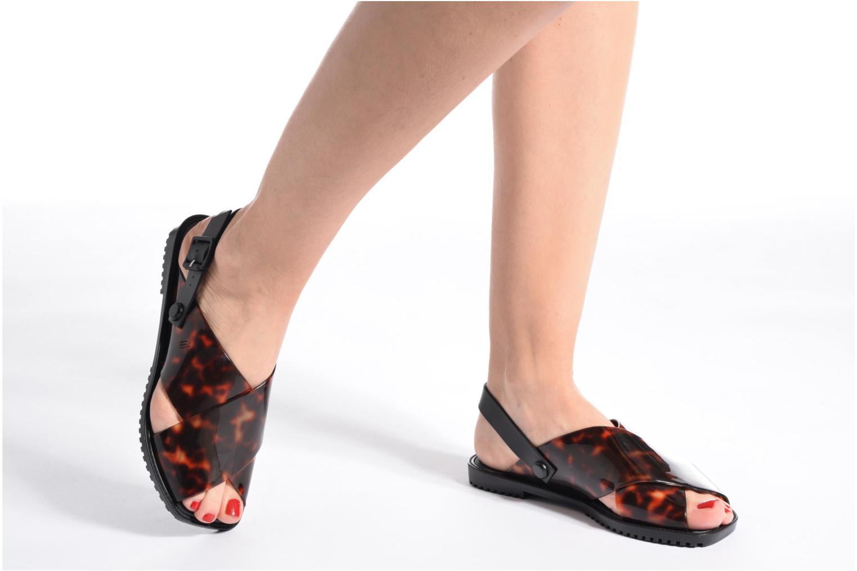 Sandales et nu-pieds Melissa Sauce Sandal Noir vue bas / vue portée sac
