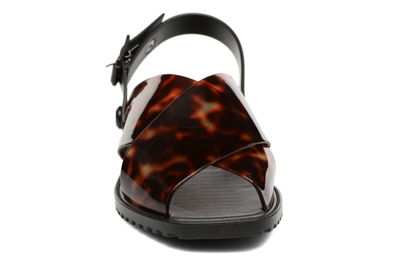 Sandales et nu-pieds Melissa Sauce Sandal Noir vue portées chaussures