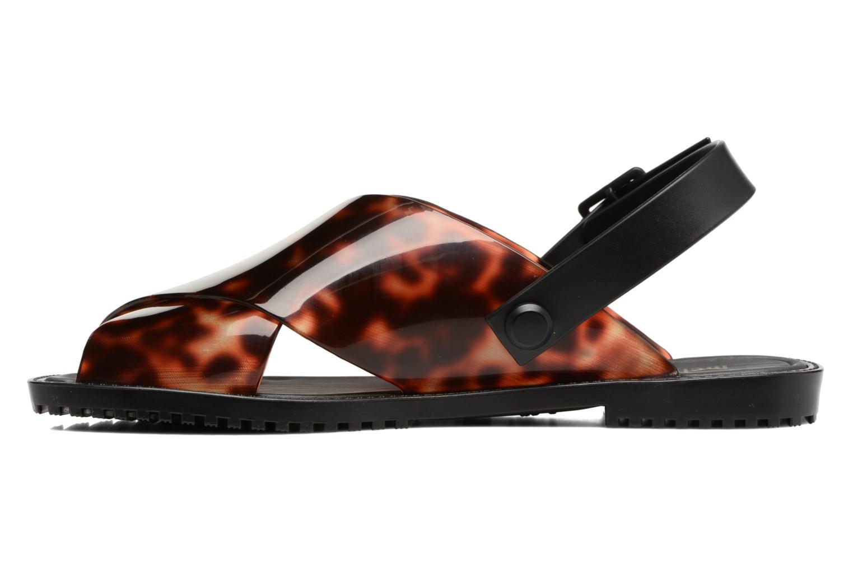 Sandales et nu-pieds Melissa Sauce Sandal Noir vue face