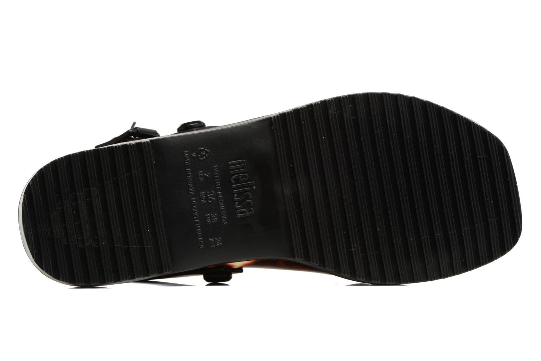 Sandales et nu-pieds Melissa Sauce Sandal Noir vue haut