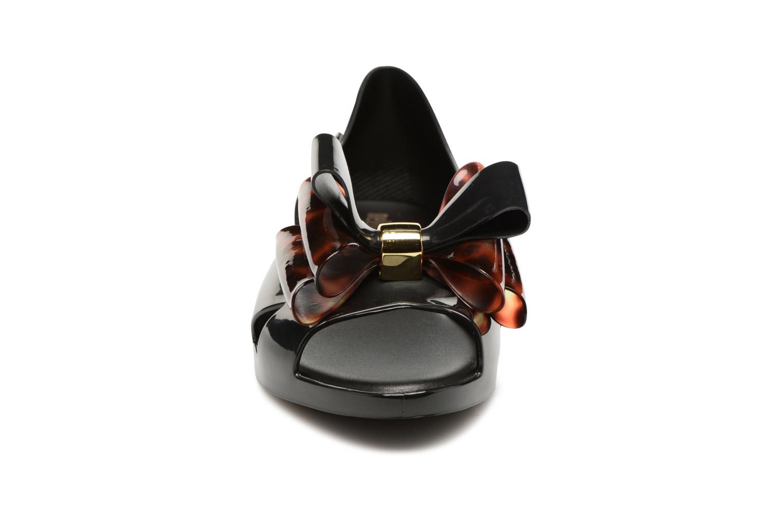 Ballerines Melissa Seduction II Noir vue portées chaussures