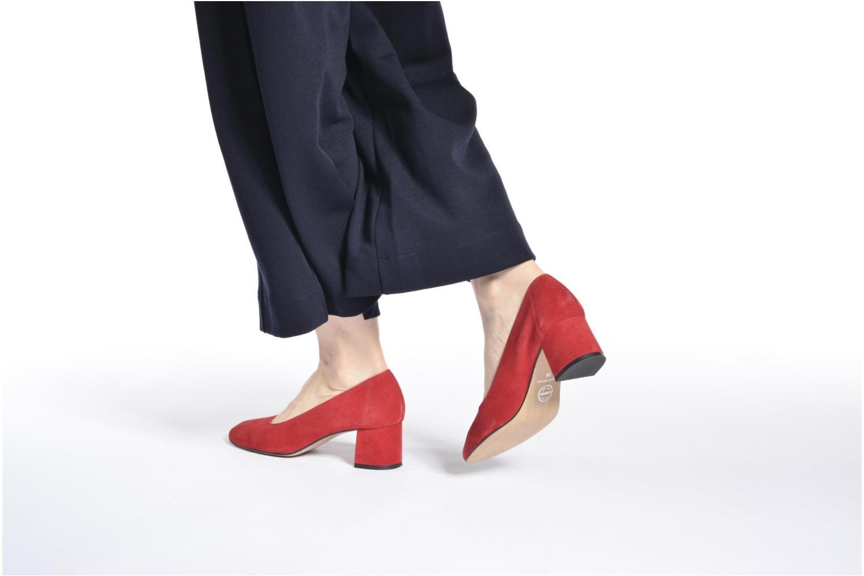 Zapatos de tacón Made by SARENZA Busy Girl Escarpins #4 Rojo vista de abajo