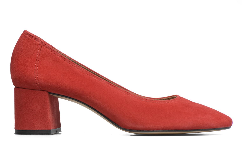 90's Girls Gang Escarpins #2 cuir velours rouge