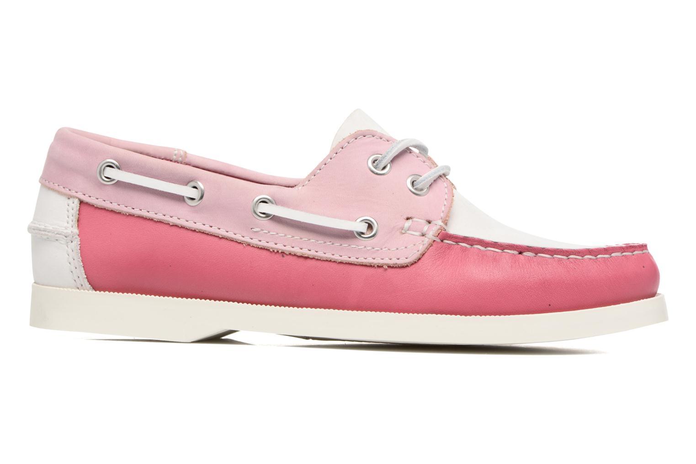 Zapatos con cordones Georgia Rose Stateau Rosa vistra trasera