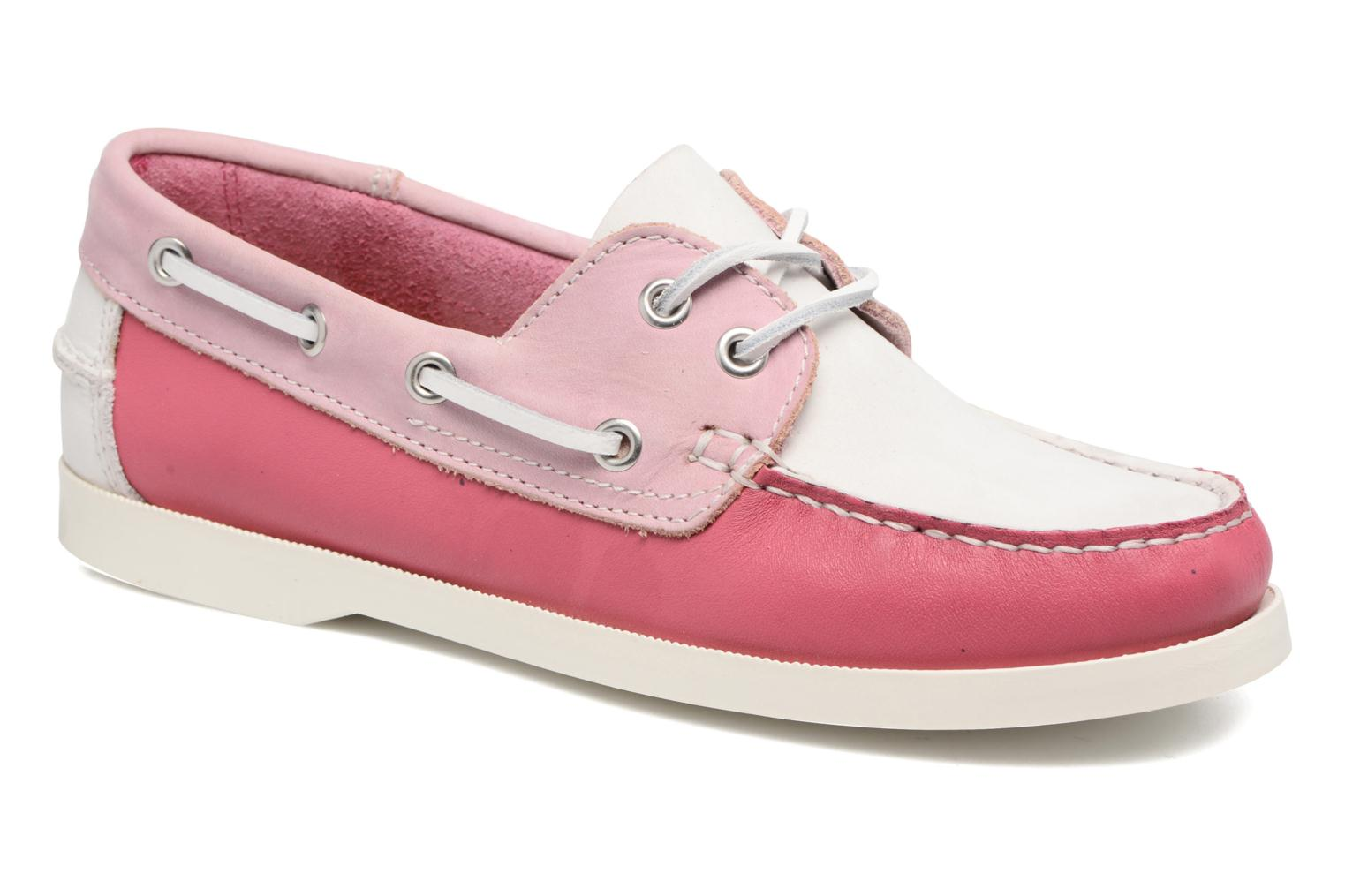 Lace-up shoes Georgia Rose Stateau Pink detailed view/ Pair view