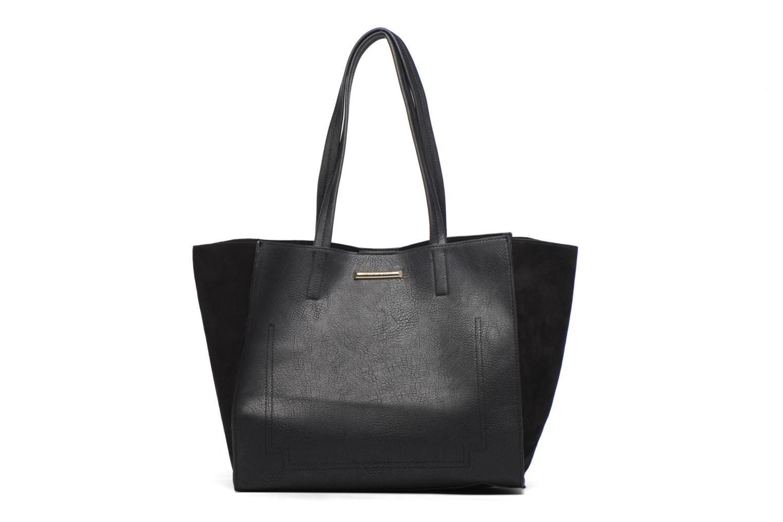 Sacs à main Dorothy Perkins Suede Side Shopper Noir vue portées chaussures