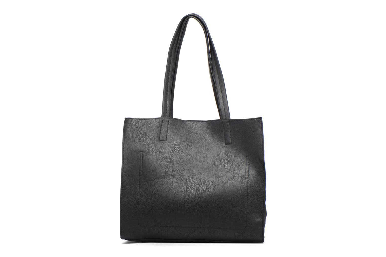 Suede Side Shopper Blackblack
