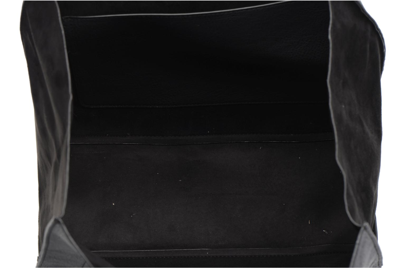 Handtassen Dorothy Perkins Suede Side Shopper Zwart achterkant