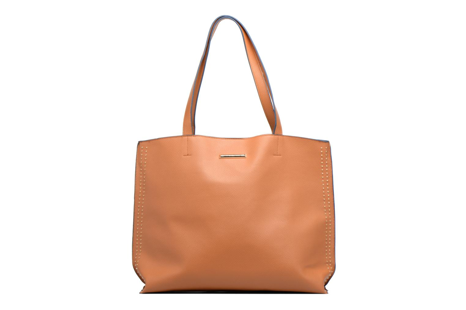 Stud Side Shopper Tan