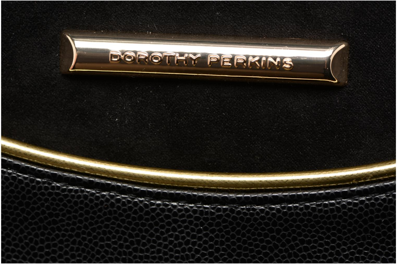 Sacs pochettes Dorothy Perkins Curve Pocket Wrislet Noir vue gauche