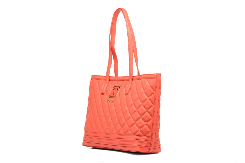 Handtaschen Love Moschino JC4211PP03 orange schuhe getragen