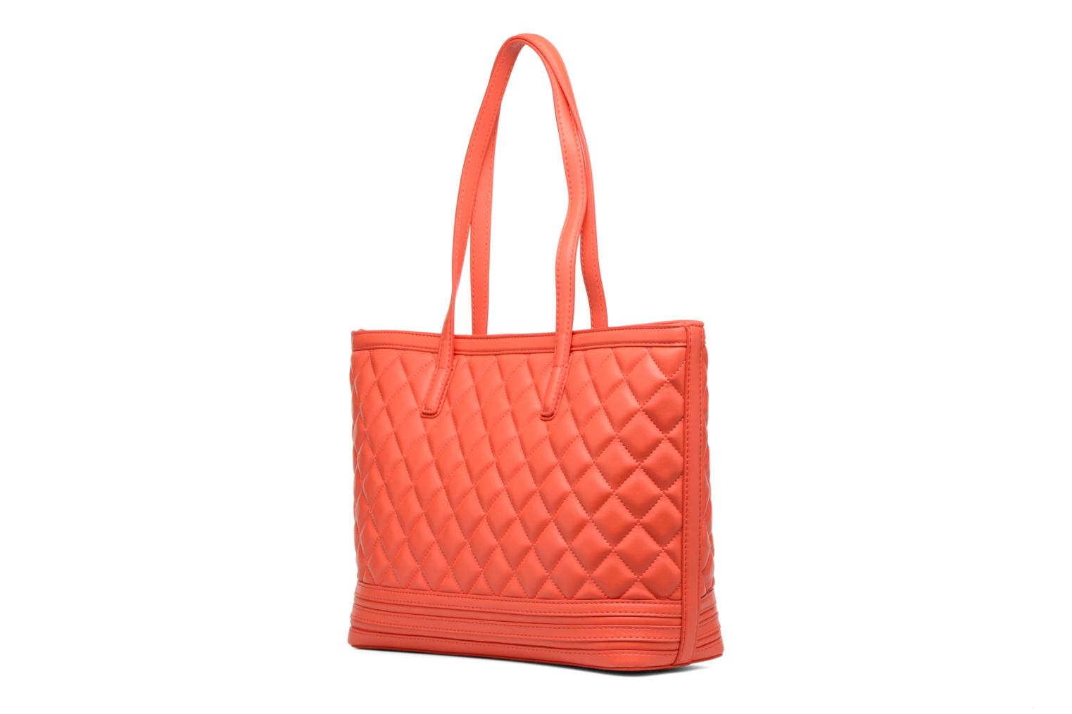Handbags Love Moschino JC4211PP03 Orange view from the right