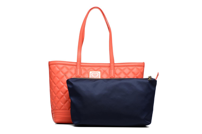 Handtaschen Love Moschino JC4211PP03 orange ansicht von links