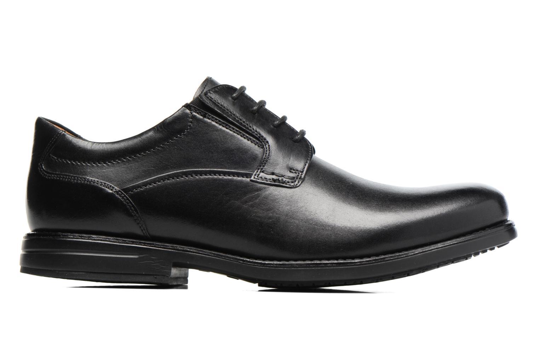 Chaussures à lacets Clarks Hopton Walk Noir vue derrière