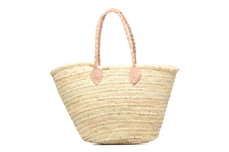 Handtaschen Etincelles Panier artisanal Vierge longes anses beige ansicht von vorne