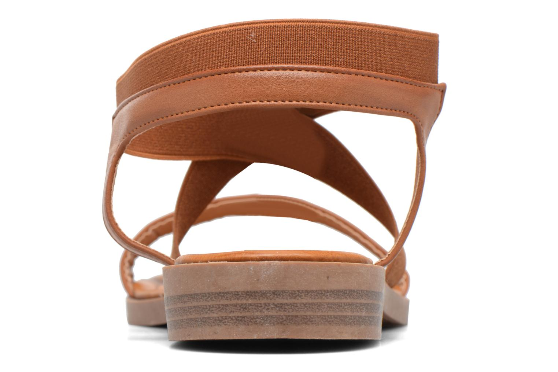 Sandalias I Love Shoes THAVA Size + Marrón vista lateral derecha