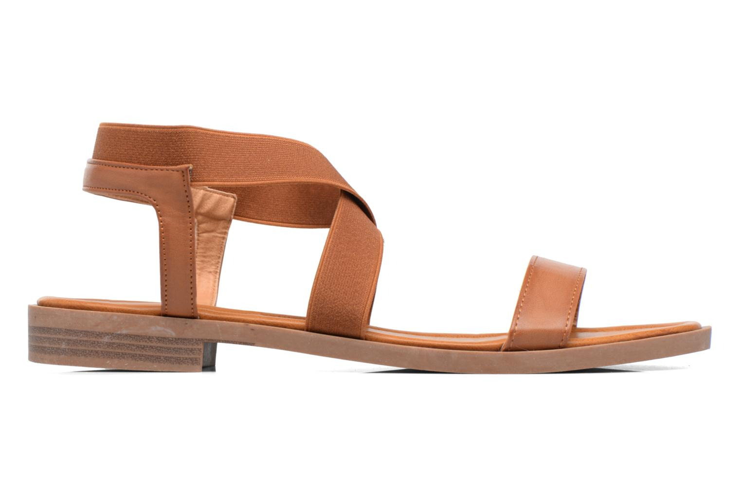 Sandals I Love Shoes THAVA Size + Brown back view