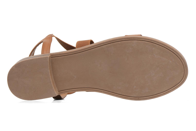 Sandalias I Love Shoes THAVA Size + Marrón vista de arriba