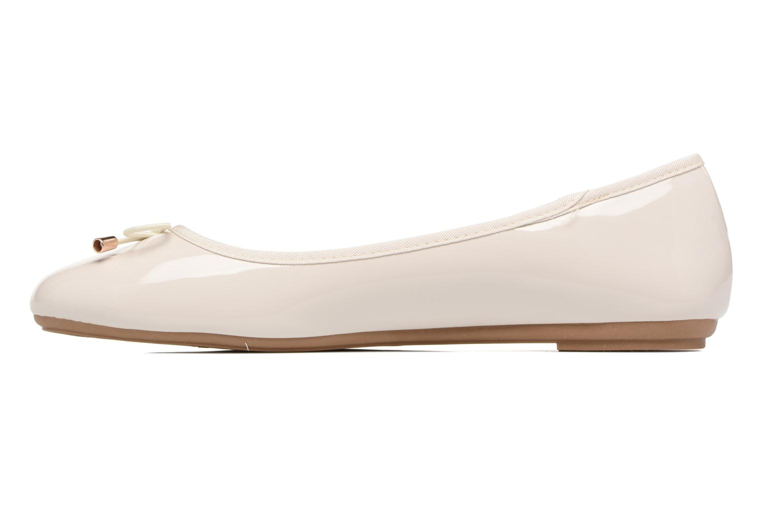 Bailarinas I Love Shoes THAVE Size + Beige vista de frente