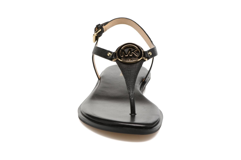 Sandales et nu-pieds Michael Michael Kors Lee Thong Noir vue portées chaussures