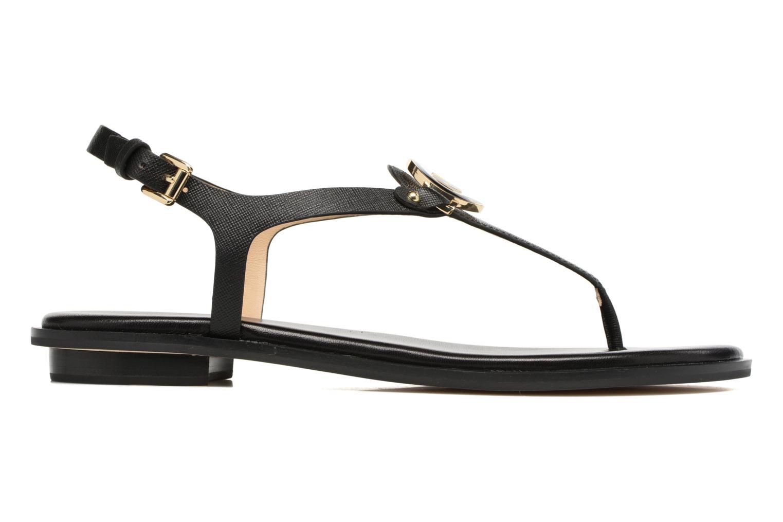 Sandales et nu-pieds Michael Michael Kors Lee Thong Noir vue derrière
