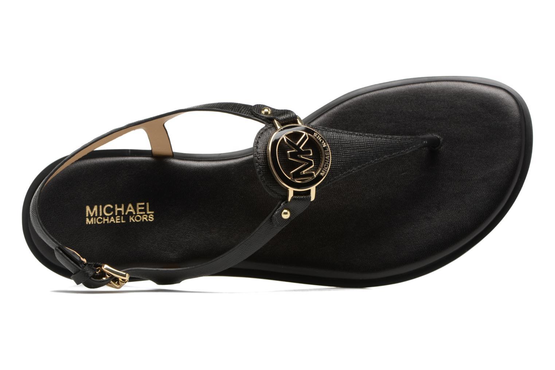 Sandales et nu-pieds Michael Michael Kors Lee Thong Noir vue gauche
