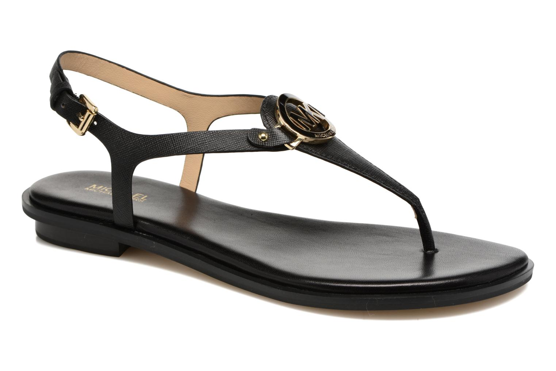 Sandales et nu-pieds Michael Michael Kors Lee Thong Noir vue détail/paire