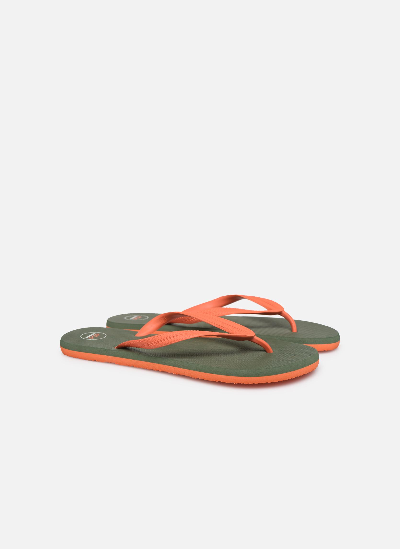 Slippers SARENZA POP Diya M Tong  Flip Flop Groen achterkant