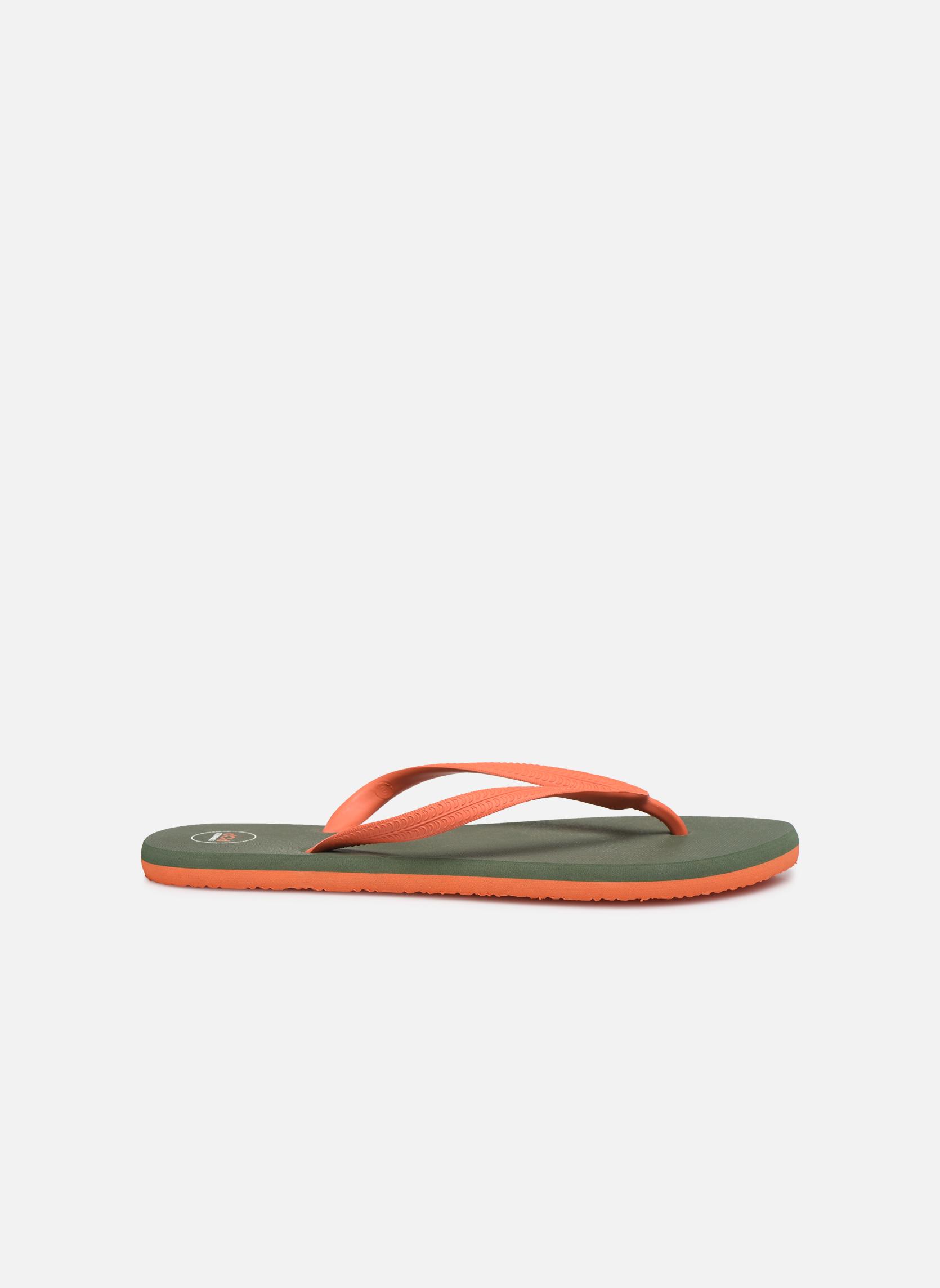 Diya M Tong  Flip Flop Orange /kaki 5925