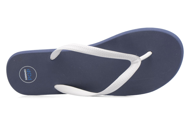 Chanclas SARENZA POP Diya M Tong  Flip Flop Azul vista lateral izquierda