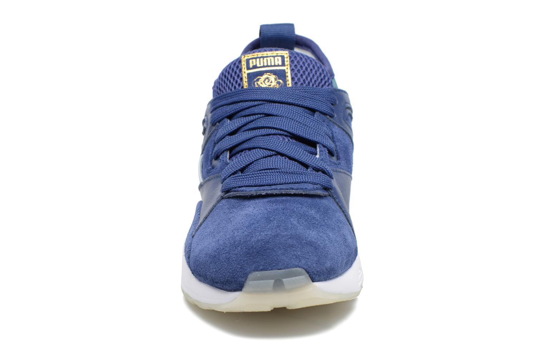 Baskets Puma PUMA x CAREAUX B.O.G Sock Bleu vue portées chaussures