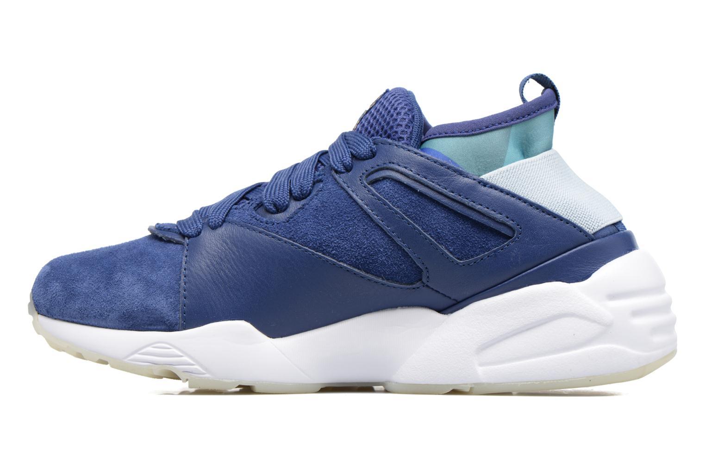 Sneakers Puma PUMA x CAREAUX B.O.G Sock Blauw voorkant
