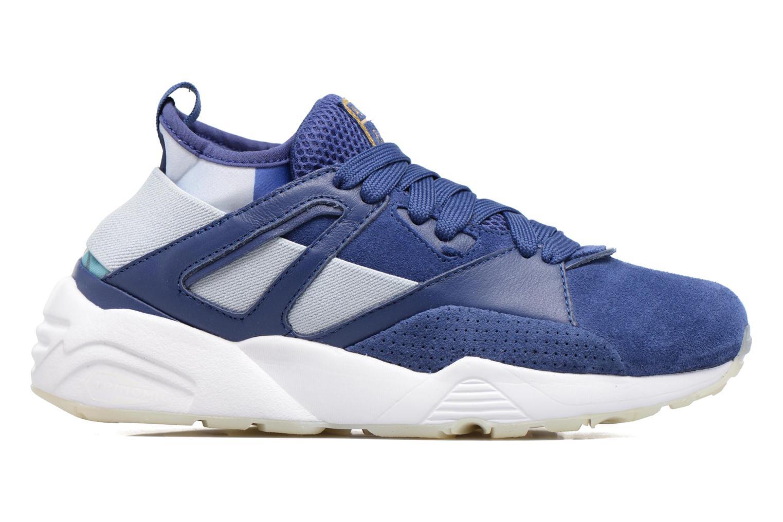 Sneakers Puma PUMA x CAREAUX B.O.G Sock Blauw achterkant