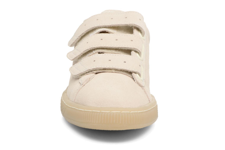 PUMA x CAREAUX Basket Strap Whisper white
