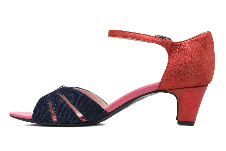 Sandales et nu-pieds Annabel Winship Tony Montana Bleu vue face