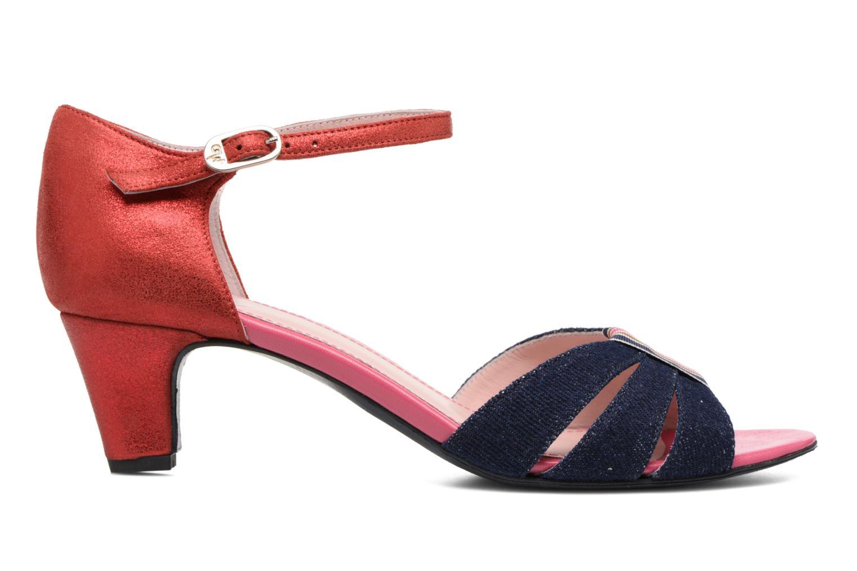 Sandales et nu-pieds Annabel Winship Tony Montana Bleu vue derrière