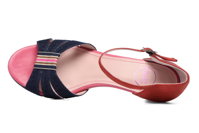 Sandales et nu-pieds Annabel Winship Tony Montana Bleu vue gauche