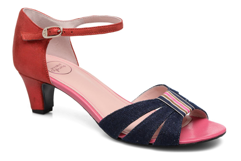 Sandales et nu-pieds Annabel Winship Tony Montana Bleu vue détail/paire